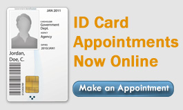 ID Card Appointments Now Available  Online